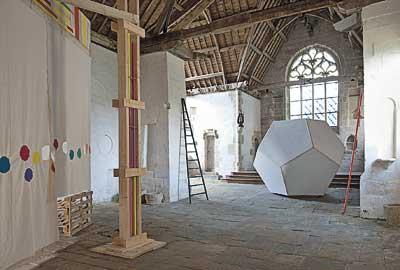 Égide Viloux, éclaircie, chapelle St-Nicolas, 2009 © S. Cuisset