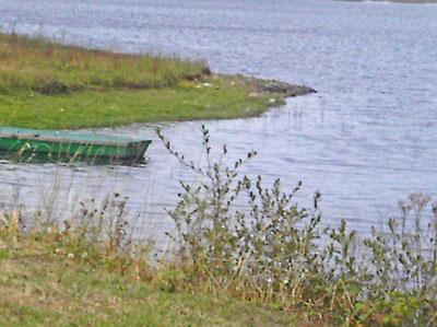 Lac de Vioreau vue du Barrage