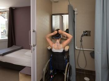 Des sanitaires accessibles