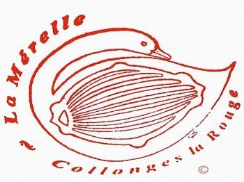 Le logo de la Mérelle de Collonges la Rouge
